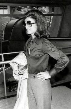 Jackie Kennedy Onassis- style icon