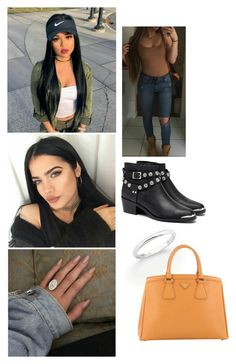 """Take What's Mine"" by paukar ❤ liked on Polyvore featuring Senso, De Beers and Prada"