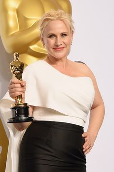 19 Celebrities Get Real About the Gender Wage Gap Patricia Arquette, Arquette Rosanna, Academy Award Winners, Oscar Winners, Jake Weber, Award Acceptance Speech, Jessica Chastain, Film Awards, Gwyneth Paltrow