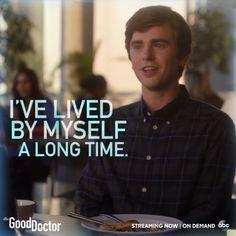 """""I can take care of myself."" #TheGoodDoctor"""