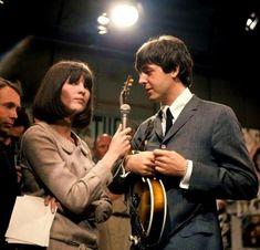 Ready Steady Go! presenter Cathy McGowan interviews Paul McCartney - everyone was in love with Cathy