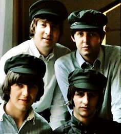 Beatles in berets