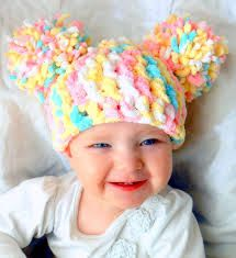crocheted cabbage patch hats - Google Search