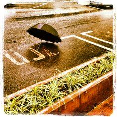 Lluvia y calle