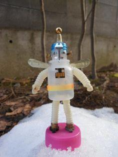 Angel Robo Ⅰ / 初登場の天使ロボットです。 これからあちらこちらに出向く予定です。。 もし、見かけたら気軽に声をかけてくださいナ