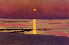 Sunset by Felix Vallotton