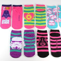 Women's Star Wars Dark Side Darth VAder Stormtrooper Galactic Empire ankle sock set ⭐️ Star Wars fashion ⭐️ Geek Fashion ⭐️ Star Wars Style ⭐️ Geek Chic ⭐️