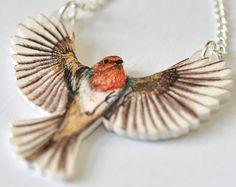 Beautiful #bird #necklace