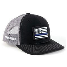 Richardson Twill Mesh  backtheblue Snapback Trucker Hat Richardson 112 1d4998f6c90