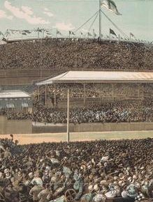 The end of the Melbourne Cup - 1881