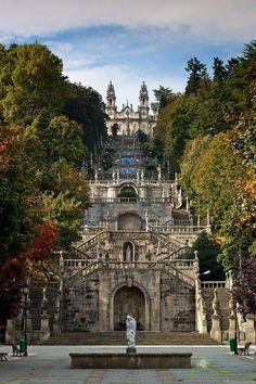 Santuario de nossa senhora dos remedios, Lamego, Portugal