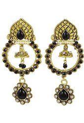 Banithani Traditional Indian Ethnic Drop Dangle Earrings Set Jewelry Gift For Women