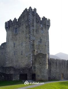 Ross Castle, County Kerry: just one of the many stunning castles of Ireland.