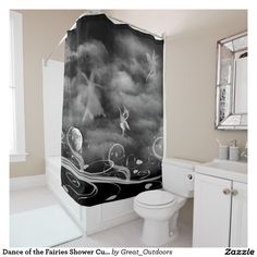 Dance of the Fairies Shower Curtain