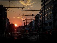 Sonntag, 23.08., 19:50 Uhr – Mitte, Torstraße: Berlin von seiner schönsten Seite. © Christian Mentzel