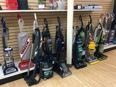 FIND BRAND NAME VACUUMS FOR LESS @ NEW USES:  We received a shipment of vacuums… Shark Vacuum, New Uses, Vacuums, Home Goods, Home Appliances, Store, House Appliances, Vacuum Cleaners, Larger