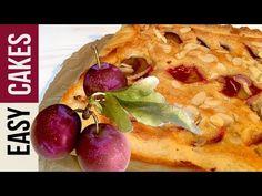 Французский сливовый пирог с миндальным кремом. Рецепт от Жан Люка Рабанеля - YouTube