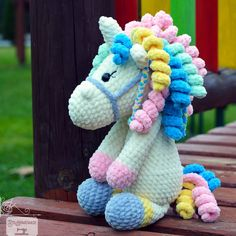 Best 12 Crochet pattern designs to make your cute kids even cuter! At BriAbby we strive to take crochet creations to the next level so each finished product is a masterpiece! Pokemon Crochet Pattern, Pikachu Crochet, Crochet Toys Patterns, Stuffed Toys Patterns, Crochet Dolls, Crochet Horse, Crochet Unicorn, Crochet Animals, Cute Crochet