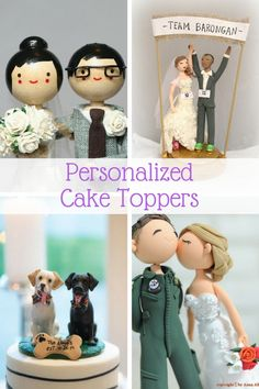 Personalized Wedding Cake Toppers … Guaranteed Smiles?