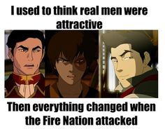 """I love the """"then everything changed when the Fire Nation attacked"""""""