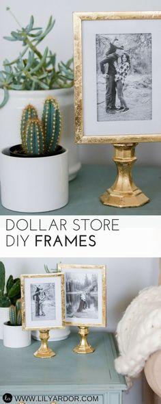 Dollar Store DIY Frames