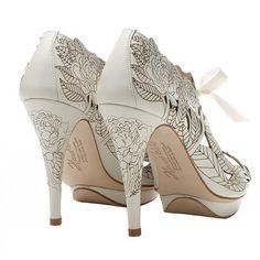 Harriet Wilde Peony - Wedding Shoes - Crystal Bridal Accessories