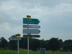 Road Signs in France   by Venture Minimalists, via Flickr