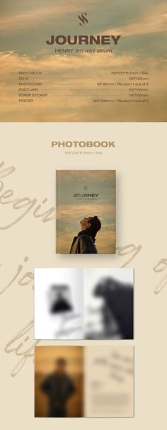 Release date: November 19th 2020 HENRY's 3rd Mini Album - JOURNEY Package :- 1 Photo Book (64p)- 1 CD-R- 1 Photo Card (Random 1 out of 3)- 1 Postcard- 1 Stamp Sticker- 1 Poster (Random 1 out of 2, FIRST PRESS ONLY)ㅣSUPER LIMITED, FIRST COME FIRST SERVE The outer case/box is simply for protecting goods. (Damages such as scratches or discoloration on the case/box cannot be compensated.) The sales volume of applied 100% in the charts on Apple, HANTEO, GAON, and Music Bank K.(It really helps HENRY f November 19th, Press Release Distribution, Release Date, Photo Cards, Photo Book, Mini Albums, Charts, Journey, Sticker