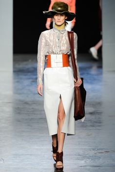 Acne Studios Fall 2012 Ready-to-Wear Fashion Show - Marie Piovesan