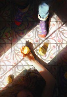 Lemonade, Nacho Yagüe on ArtStation at https://www.artstation.com/artwork/eZDqG?utm_campaign=artwork_fifty_likes&utm_medium=email&utm_source=notifications_mailer