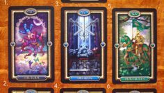 Three Stages of Love Tarot Spread