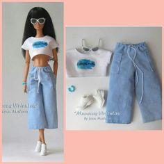 Barbie Dolls Diy, Barbie Fashionista Dolls, Barbie Doll House, Sewing Barbie Clothes, Barbie Sewing Patterns, Barbie Wedding Dress, Barbie Dress, Barbie Wardrobe, Barbie Accessories