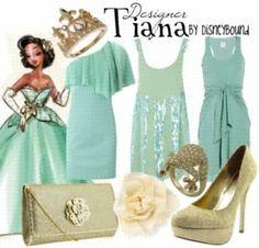 Designer Tiana Everyday Wear by Disneybound