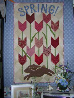 Spring Quilt Pattern.