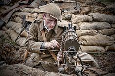 War & Peace British WW1 Soldier | War & Peace Show July 2012… | Flickr