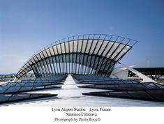 Santiago Calatrava Lyon #SantiagoCalatravaArchitecture Pinned by www.modlar.com