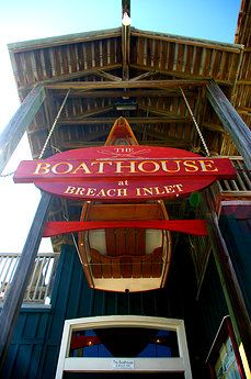The Boathouse at Breach Inlet is a great place to grab lunch or dinner on the Isle of Palms, SC.