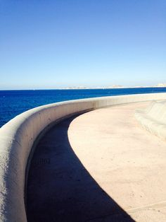 Marseille, with nothing but blue and sun
