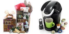 Starbucks Basket with Keurig Coffee Maker Sweepstakes