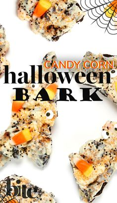 Have a scrumptious and spooktacular Halloween with this easy and killer Candy Corn Bark recipe. #halloweentreats #halloweenparty #trickortreat #funrecipes #diy #homemadetreats