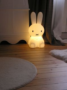 Marceau's Miffy http://www.mylittlebazar.com/fr/lampes-veilleuses-miffy/681-miffy-lampe-grand-modele.html?gclid=CNnT-4Dz3sACFdSWtAodG1IAOA