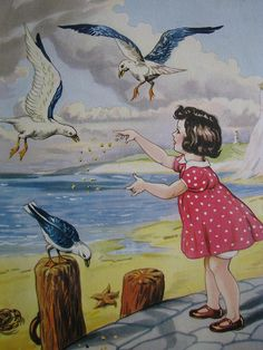 The seagulls at the seaside by Heart felt, via Flickr
