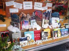 Secret Garden Books, Ballard. Creative window! via Jaime Temairik: CocoaStomp: November 2010