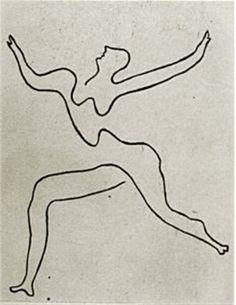 Pablo Picasso. Mercure: étude de danseur. 1924.