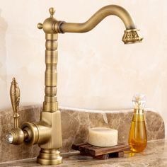 Reviews Antique Brass Basin Faucet Hot Retro Single Handle Hole And Restroom Washbasin Taps Crystal And Brushed Kitchen Faucet ☉ Price Antique Brass Basin Faucet Hot Retro Single Handle Order Now!!  Antique Brass Basin Faucet Hot Retro Single Handle Hole And Restroom W  Details : http://shop.flowmaker.info/AqPvb    Antique Brass Basin Faucet Hot Retro Single Handle Hole And Restroom Washbasin Taps Crystal And Brushed Kitchen FaucetYour like Antique Brass Basin Faucet Hot Retro Single Handle…