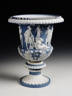 Sèvres Copy of the Medici Krater – 1813 – hard-paste porcelain with applied reliefs – commissioned by Napoleon Bonaparte.