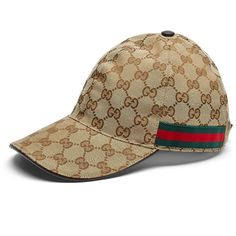 Gucci Canvas Baseball Hat ( 295) ❤ liked on Polyvore featuring men s  fashion db28be76a94d