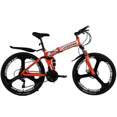 ATOPONE A9 Pro folding mountain black bike Speed Double Disc Brake complete bicycle High quality bike rack bicycles (orange, 21speed) http://coolbike.us/product/atopone-a9-pro-folding-mountain-black-bike-speed-double-disc-brake-complete-bicycle-high-quality-bike-rack-bicycles-orange-21speed/
