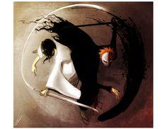 Black Passion vs White Pride by Newsha-Ghasemi.