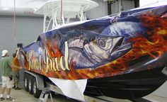 Image detail for -Wrap Central - Boat Wraps | Central Michigan Graphics